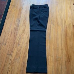 Gap Charcoal Grey Slacks Curvy 4Long